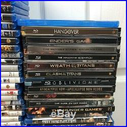 140+ Blu Ray Lot Personal Collection All Blu Ray Discs Included