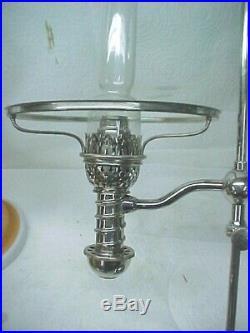 1870's Manhattan Student Oil Lamp, All Original, Near Mint Cond