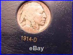 1913 To 1938 Buffalo Nickel Complete Collection Of All Dates & Mint Marks! #444