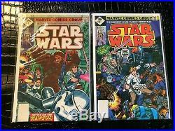 1977 STAR WARS 1 thru 38 LOT ALL HIGH GRADE Original Marvel Comics