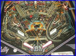 1980 Bally Space Invaders Pinball Machine N/mint Working! All Original