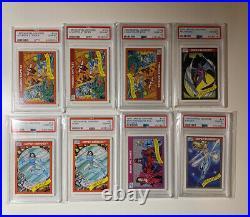 1990 Marvel Universe HUGE LOT ALL PSA 10 Gem Mint