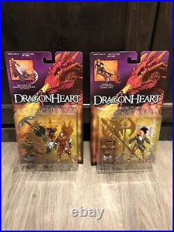 1995 Kenner Dragonheart Complete Collection All 12 Pieces Factory Sealed Lot