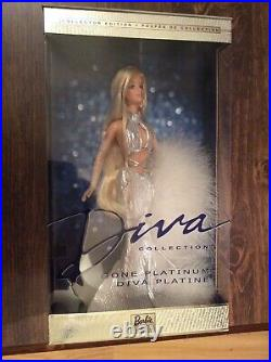 2002 Barbie Complete Diva Collection Gone Platinum Red Hot All That Glitters