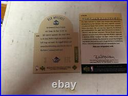 2003-04 Ultimate Collection Die Cut All Star Ben Wallace SE10 Auto BB-BW- #20/21