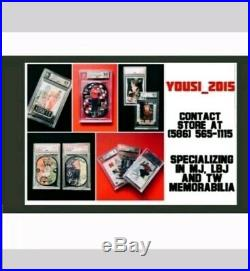 2005-06 Ultimate Collection All-star Michael Jordan Auto Bulls Bgs 9 Mint 8/14