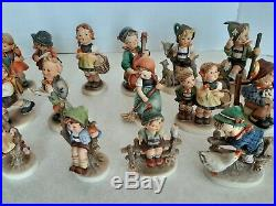 23-Vintage Goebel Hummel All TMK5 & TMK6 (No Chips) All Different Collection Lot