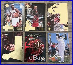 (52) 1990s MICHAEL JORDAN Premium Lot ALL INSERTS Collection Upper Deck Topps+