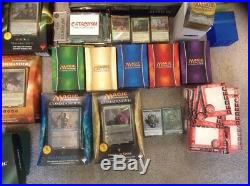 ALL 33 MTG COMMANDER DECKS lot Magic The Gathering Collection Complete Set
