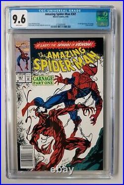 AMAZING SPIDER-MAN #300 361 362 363 LOT All CGC GRADED 1st Venom & 1st Carnage