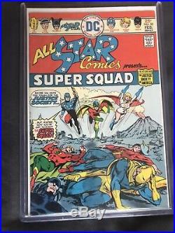 All-Star Comics #58 (Jan-Feb 1976, DC) Near Mint! Key Issue (Power Girl)