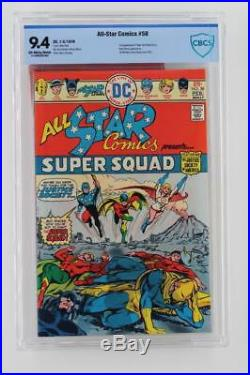 All-Star Comics #58 -NEAR MINT- CBCS 9.4 NM DC 1976 1st App of Power Girl
