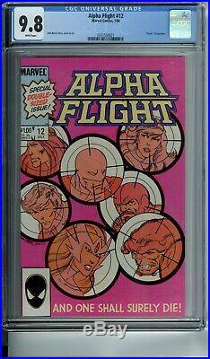 Alpha Flight 1 2 3 4 5 6 7 8 10 11 12 13 Lot Set Of 12 All Cgc 9.8 All White Pgs