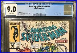 Amazing Spiderman 299 300 301 Marvel Teamup 141 Cgc Lot Own Em All Venom No 9.8