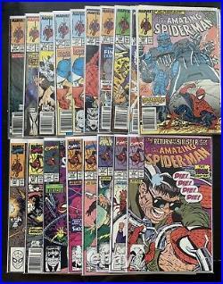 Amazing Spiderman Full 298-400 Run Lot With All Keys! 300 (2) 316 (2) 344 361