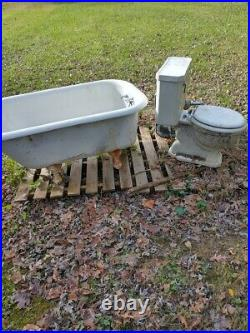 Ball and claw tub, sink, all mint, if not sold, a flower planter, 22 acres cornerlol