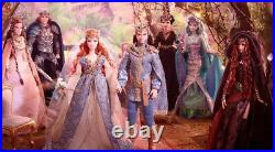 Barbie Gold Collection Designer Faraway Forest ALL 6 Issued Mint in Orig Box