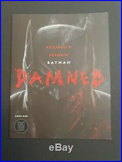 Batman Damned full Lot of 5 includes1, 2, 3, 2a & 3a all books NM