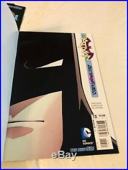 Batman New 52 Lot #1-13 + #0 all 1st Prints High Grade lot Court of Owls