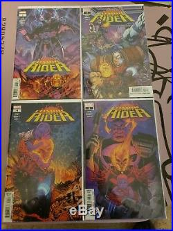 Big Cosmic Ghost Rider Lot Including 1st App. Thanos 13 All 1st prints and NM+