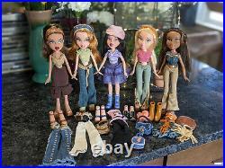 Bratz Doll Lot Strut It Collection Excellent Condition All 5 Original Dolls
