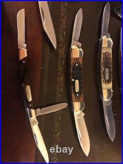 Buck Pocket knife lot 15 knifes total All mint brand new lot Buck