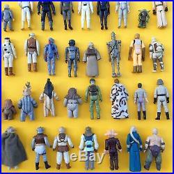 COMPLETE Vintage Star Wars Figure Collection x77 Job Lot All 100% Original