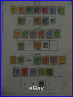 CYPRUS Beautiful all Mint collection on album pages. Stanley Gibbons Cat £1790