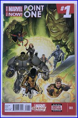 Captain Marvel 14, 17. All New Marvel Now Point One 1 1st Kamala Khan Lot 2014