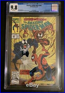 Carnage Lot! ASM 361 362 (1st&2nd Print) 363 All CGC 9.8! Venom Spiderman Bagley