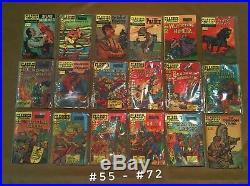 Classics Illustrated Comics Complete Lot 169 All Originals Some First Printing