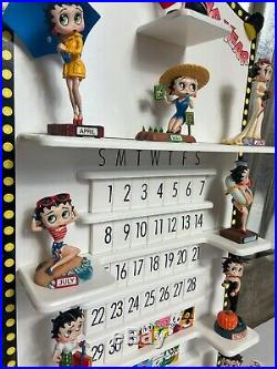 Complete Betty Boop Calendar Boppin Through The Year Danbury Mint All Figurines
