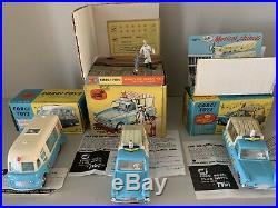 Corgi 447 474 428 Ice Cream Van Collection All Mint Original