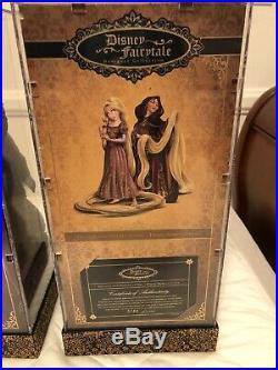D23 Lot of ALL 5 Sets Disney Fairy tale Designer Heroes Vs Villains Dolls LE