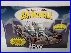 DANBURY MINT 1966 COMIC BOOK BATMOBILE BNIB & HALLMARK BATMAN ORN. WithALL DOCS
