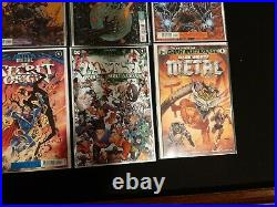 DARK KNIGHTS DEATH METAL 1-7 + All One Shots Complete Set 20 Book Lot