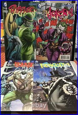 DC NEW 52 BATMAN #0,1-52 62 Comics Annuals Complete Run All First Printings Lot2