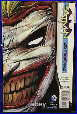 DC NEW 52 BATMAN #0,1-52 77 Comics Annuals Complete Run All First Printings Lot1
