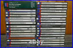 DECCA CLASSICAL CD JOBLOT COLLECTION 33 CD's TOP TITLES ALL IN MINT CONDITION