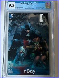 Dark Knight III (DK3) Master Race Jim Lee 1500 Lot Issues 1-9 ALL CGC 9.8
