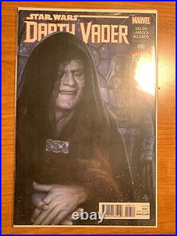 Darth Vader 3, and lot 1-6 including issue 3, 1st Dr. Aphra. All first print