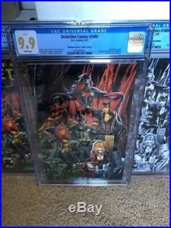 Detective Comics #1000 Anacleto CGC 9.9 (not 9.8) Variant Lot -All Mint Copies1