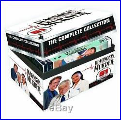 Diagnosis Murder Complete DVD Set Collection All Season Episodes TV Show Box Lot