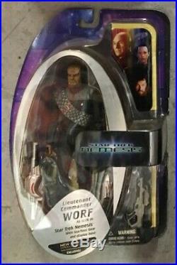 Diamond Select Toys Star Trek The Next Generation Nemesis All 7 Main Figures lot