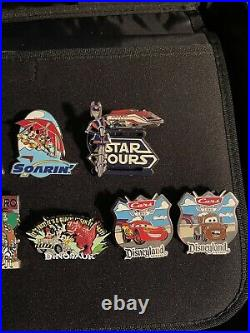 Disney Pin Ride Lot! Pins In Top Row All Have Moving Parts