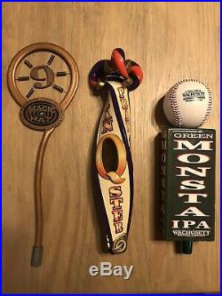 Draft Beer 28 Tap Handle Lot. MUST SEE! All In New Condition