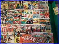 Enter the Lost World of the Warlord Huge Lot of 99 DC Comics All Pictured