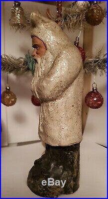 Exceptional Antique 1880s-90's German Santa Belsnickle Authentic All Orig. Mint