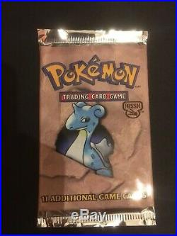 Fossil Booster Packs All Artwork Factory Sealed Mint. Pokemon