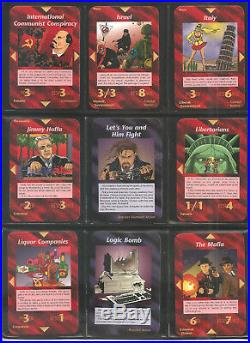 Full Set All 409 UNLIMITED Illuminati INWO Card Game HIGH GRADE MINT